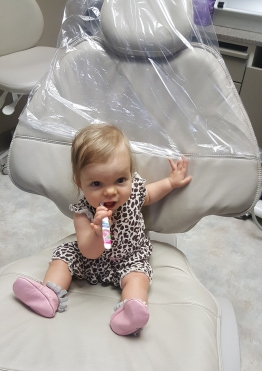 Eleanor at Dentist